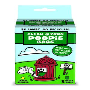 Doodie Bags Large Recycled Plastic Poop Bags
