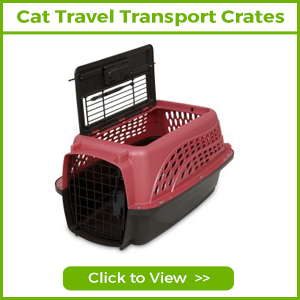 cat travel transport crates