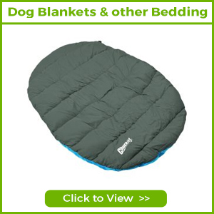 DOG BLANKETS & OTHER BEDDING