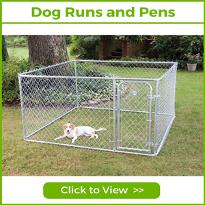 DOG RUNS AND PENS