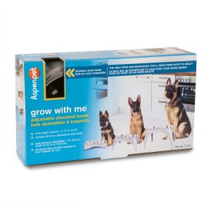 Grow with Me Elevated Pet Feeder