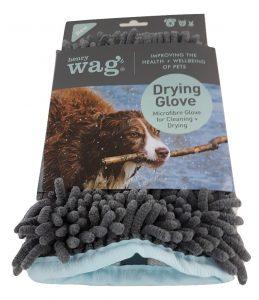 Henry Wag Micro fibre Dog Glove
