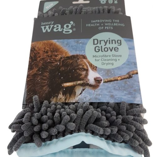 Henry Wag Micro fibre Dog Glove