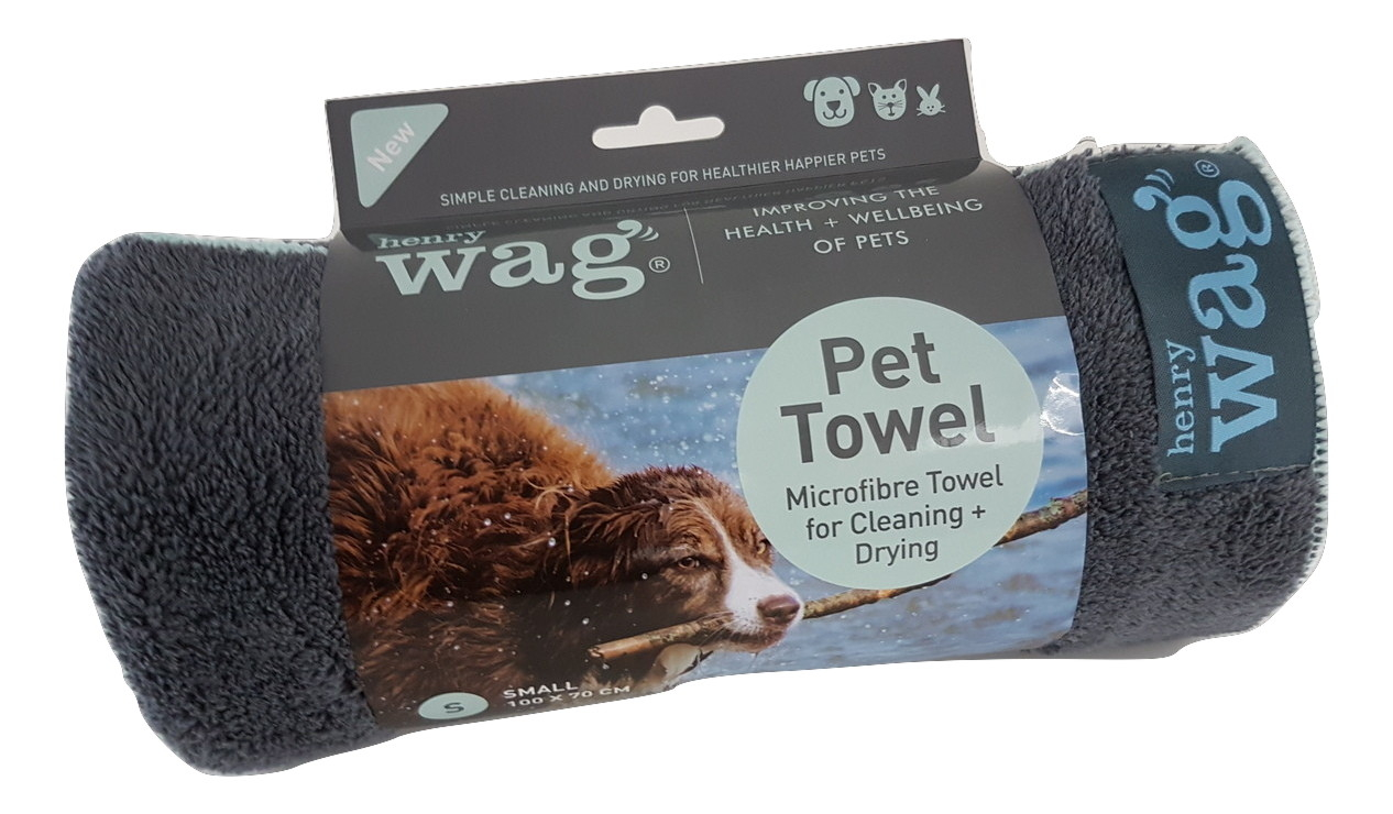 Henry Wag Microfibre Towel Petworld365