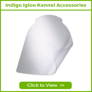 INDIGO IGLOO DOG KENNEL ACCESSORIES