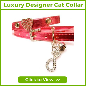 LUXURY DESIGNER CAT COLLARS