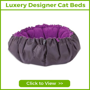 LUXURY DESIGNER CAT BEDS