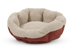 ROUND SELF WARMING CAT BED