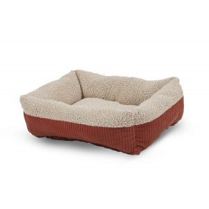 SELF WARMING DOG BED RECTANGULAR LOUNGER