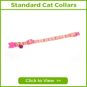 STANDARD CAT COLLARS