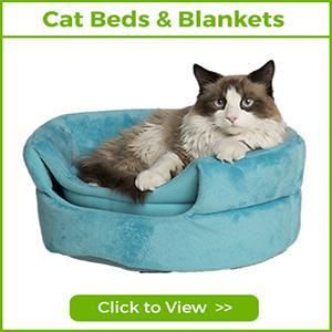 CAT BEDS & BLANKETS