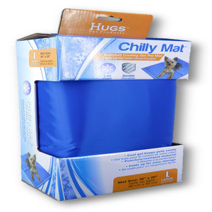 Chilly Mat Pet Cooling Gel Mat
