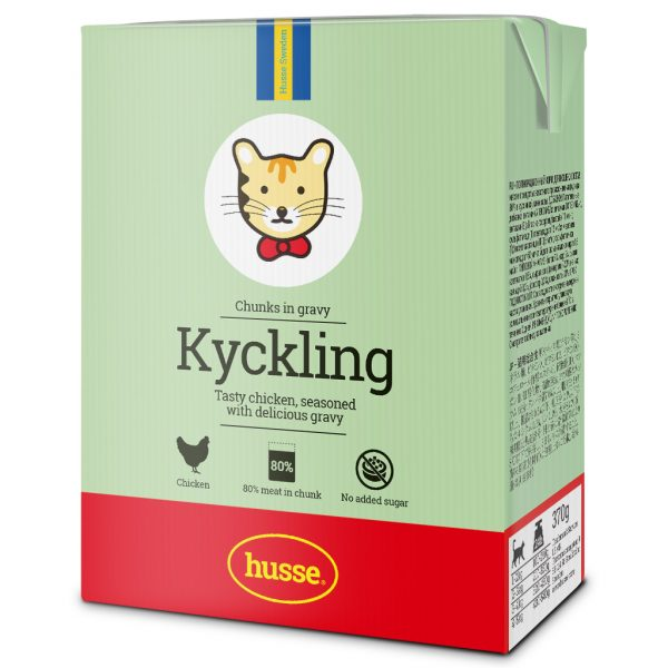 KYCKLING CHICKEN CHUNKS IN GRAVY FOR CATS