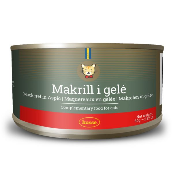MACKEREL IN JELLY WET CAT FOOD