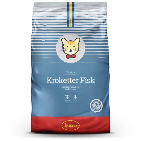 KROKETTER FISK CAT DRY FOOD