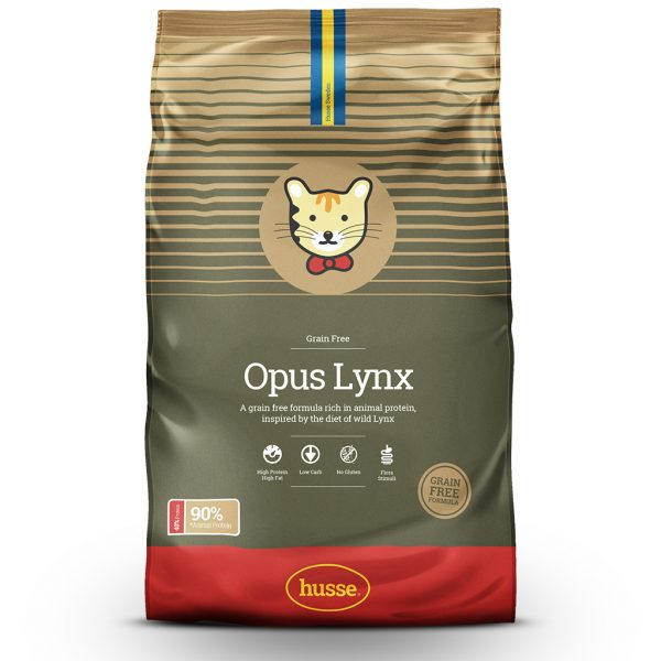 OPUS LYNX CHICKEN AND POTATO DRY CAT FOOD