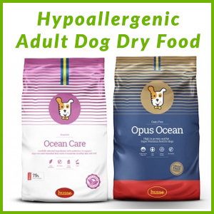 HUSSE HYPOALLERGENIC ADULT DOG DRY FOOD