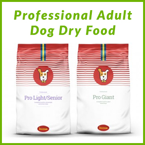 HUSSE PROFESSIONAL RANGE DOG DRY FOOD