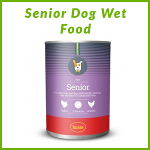 HUSSE SENIOR DOG WET FOOD