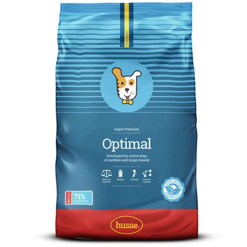 OPTIMAL HUSSE DRY FOOD