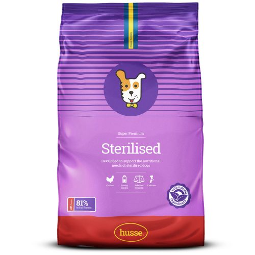 STERILISED CHICKEN FLAVORED DOG DRY FOOD