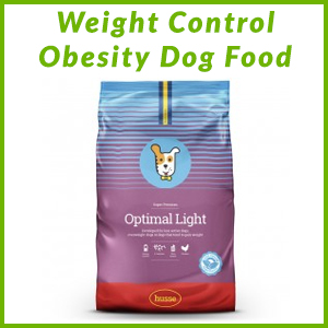HUSSE WEIGHT CONTROL OBESITY DRY DOG FOOD