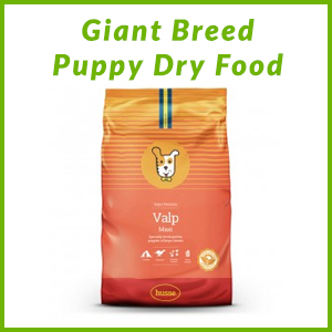 HUSSE GIANT BREED PUPPY DRY FOOD