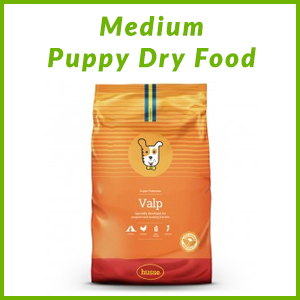 HUSSE MEDIUM PUPPY DRY FOOD