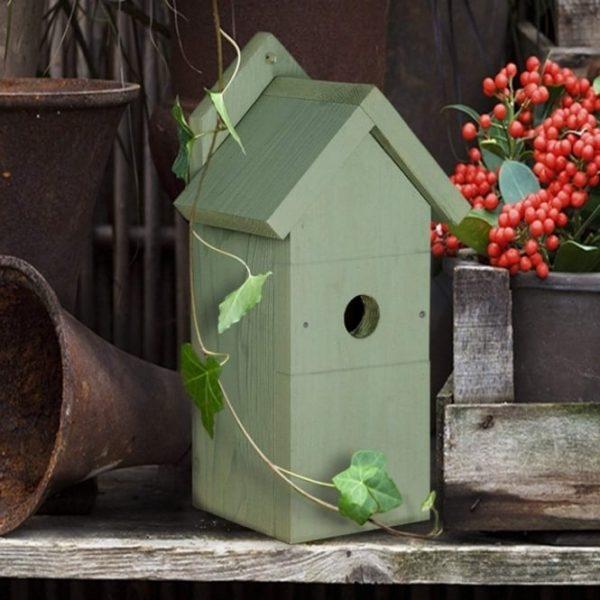 THC WILD BIRD WOODEN NEST BOX