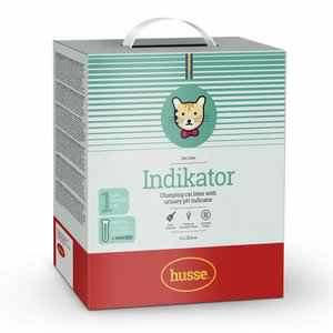 INDICATOR CLUMPING CAT LITTER