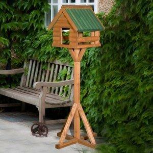 THC FORDWICH LOG BIRD TABLE
