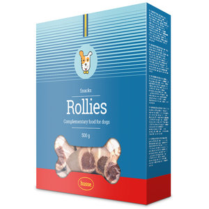 ROLLIES TASTY ROLL DOG TREATS