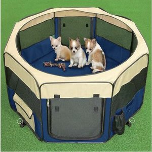 HENRY WAG FABRIC PET PLAY PEN
