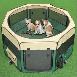 HENRY WAG MEDIUM FABRIC PET PLAY PEN