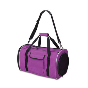 JACKSON GALAXY BASE CAMP CARRIER INCLUDES PURPLE MESH TUNNEL