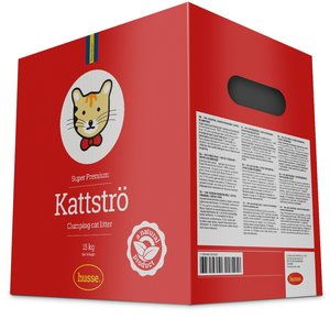 SUPER PREMIUM CLUMPING RED CAT LITTER