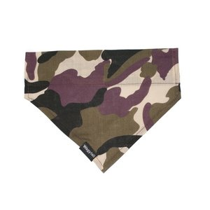 ARMY CAMO DOG BANDANA