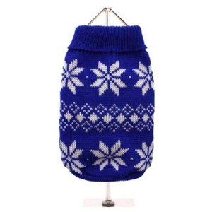 BLUE SNOWFLAKE JUMPER