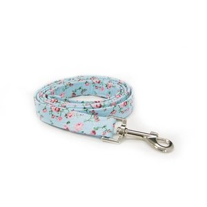 FLORAL BLUE DOG LEAD