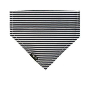 STRIPE NAVY DOG BANDANA