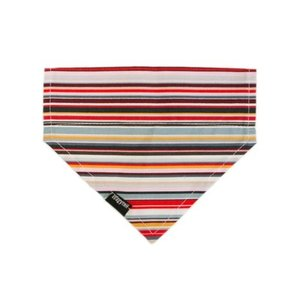 STRIPE RAINBOW DOG BANDANA