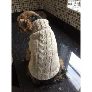 LUXURY CREAM KNITTED JUMPER