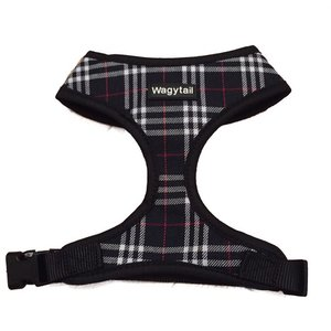 BLACK PLAID HARNESS