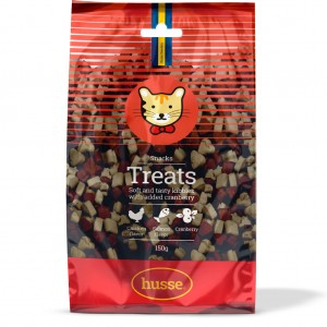 CHICKEN AND SALMON QUALITY CAT TREATS