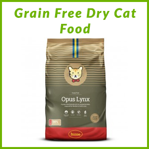 HUSSE GRAIN FREE CAT DRY FOOD