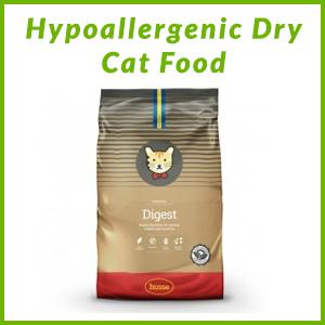 HUSSE HYPOALLERGENIC CAT DRY FOOD