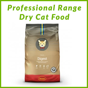 HUSSE PROFESSIONAL RANGE CAT DRY FOOD