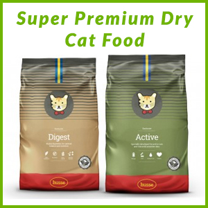 HUSSE SUPER PREMIUM CAT DRY FOOD