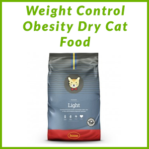 HUSSE WEIGHT CONTROL OBESITY DRY CAT FOOD