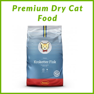 HUSSE PREMIUM CAT DRY FOOD